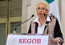 Sánchez Cordero se refugió en la violencia hacia la mujer. Habló sobre su papel como jefa de gabinete y titular de Gobernación