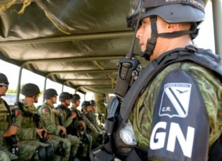 piezas históricas Guardia Nacional retenidos