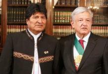 Evo Morales agradeció a AMLO la donación