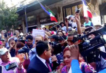 simpatizantes AMLO agresión periodista