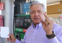 """""""gasolinazo disfrazado"""", AMLO dijo, IEPS, Promesas"""