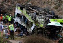 muertos autobús Chile
