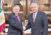 Zaldívar y López Obrador ampliación
