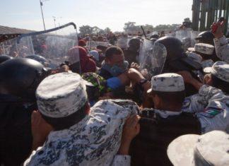 Guardia Nacional para detener migrantes