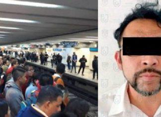 Violación en el Metro