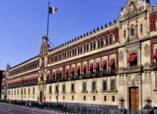 Protestas Palacio Nacional