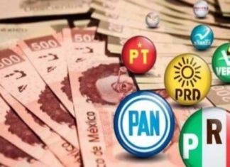 millones de pesos PARTIDOS POLÍTICOS