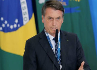 Presidente Brasil Jair Bolsonaro