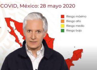 Estado de México en semáforo rojo