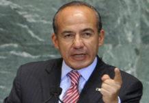 Calderón critica manejo de la pandemia