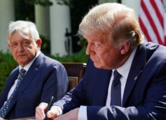 """Reunión de AMLO con Trump fue con """"enorme dignidad"""", dice Barbosa"""