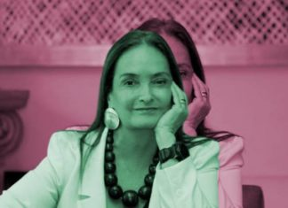 Ella es Patricia Armendáriz, única mujer entre los empresarios mexicanos en Reunión de AMLO y Trump