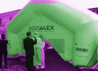 Con más de mil 500 contagios, el módulo de pruebas Covid-19 en Ixtapaluca ya está funcionando