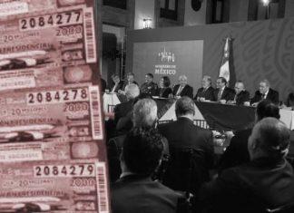 72 empresarios cenaron con AMLO antes de la rifa del Avión Presidencial