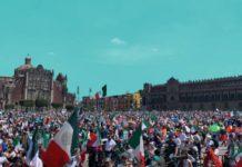 """""""Con100MilTeVas"""", dicen usuarios de redes a AMLO tras manifestaciones de FRENAAA"""