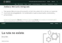 Utilizan página del gobierno de la CDMX para dar los horóscopos