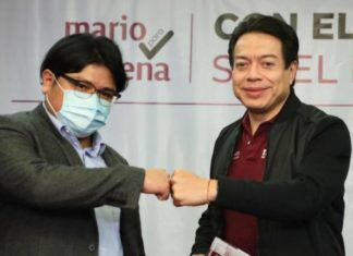 Gibrán se suma al proyecto de Mario Delgado para la dirigencia de Morena