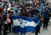 Guatemala regresa caravana migrante de Honduras