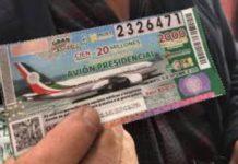 Funcionarios se roban cachito ganador de la rifa de AMLO en Veracruz