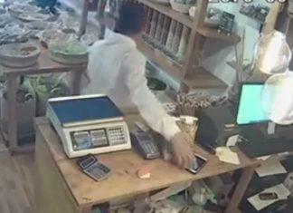 Captan a diputado de Morena robándose un celular en una tienda (Video)