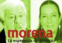 Morena y Jaime Maussan