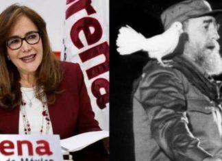 Polevnsky y Fidel Castro