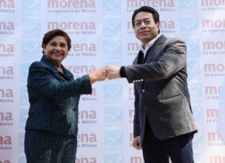 Morena y Nueva Alianza