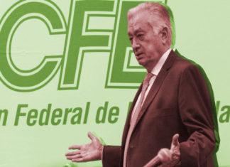 Incendio y apagón de la CFE,corrupción de Bartlett en la CFE,CFE de Bartlett entregó un contrato por 409 mdp a Hank Rhon
