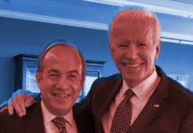 Calderón Biden, Calderón felicitó a Biden