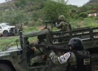 Enfrentamientos en Michoacán