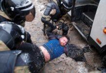 manifestantes Rusia detenidos