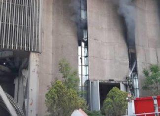 incendio en subestación del Metro