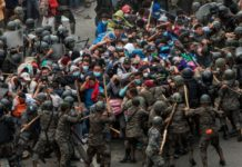 caravana migrante Guatemala
