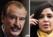 Vicente Fox y Emma coronel