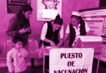 Aplicación de vacunas