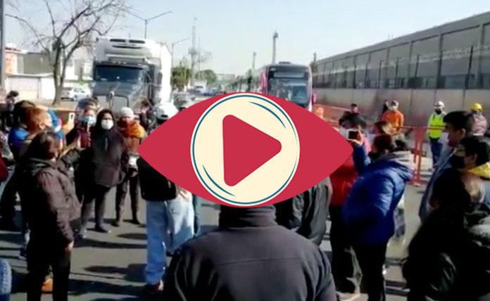 protesta Ecatepec vacunación