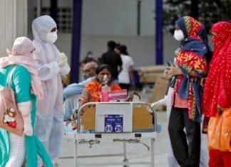 hombre India contagios 24 horas