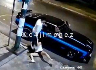 sujeto detenido mujer Coapa