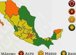 Semáforo Pandémico de México