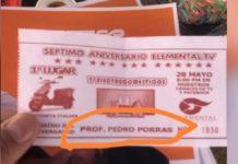Candidato de Morena regalando boletos