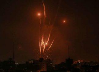 bombardeo en Israel