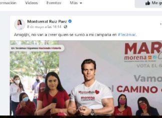 Candidata de Morena usa a Henry Cavill