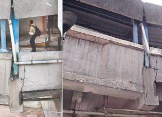tramos del Metro de la CDMX supuestamente dañados