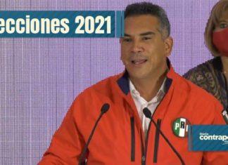 Alejandro Moreno asegura que el PRI encabeza en Campeche y NL