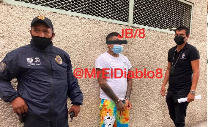 """Detienen a """"El Mara"""" junto con otros 4 distribuidores de droga en Tepito"""