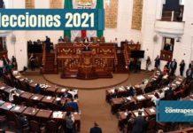 Congreso de la Ciudad de México tras las elecciones 2021
