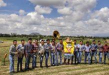 Banda oaxaqueña hace video musical con Bob Esponja