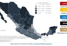México sumó 19 defunciones y 5, 711 nuevos casos de Covid-19 en 24 horas