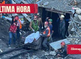 rescate Localizan el cuerpo de un cuarto cuerpo de los mineros atrapados en Múzquiz, Coahuila