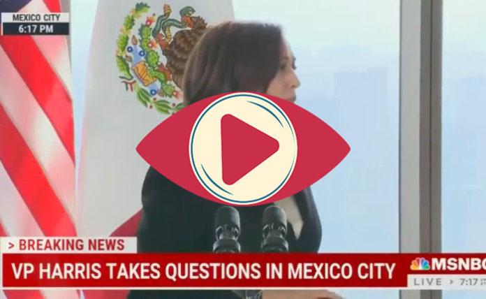 kamala Harris conferencia México
